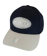 Dallas Oval Patch Style Adjustable Baseball Cap (Navy/Gray) - $13.95