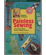 Painless Sewing - Mother Pletsch's - Pati Palmer - SC - 1996 - Palmer / ... - $4.70