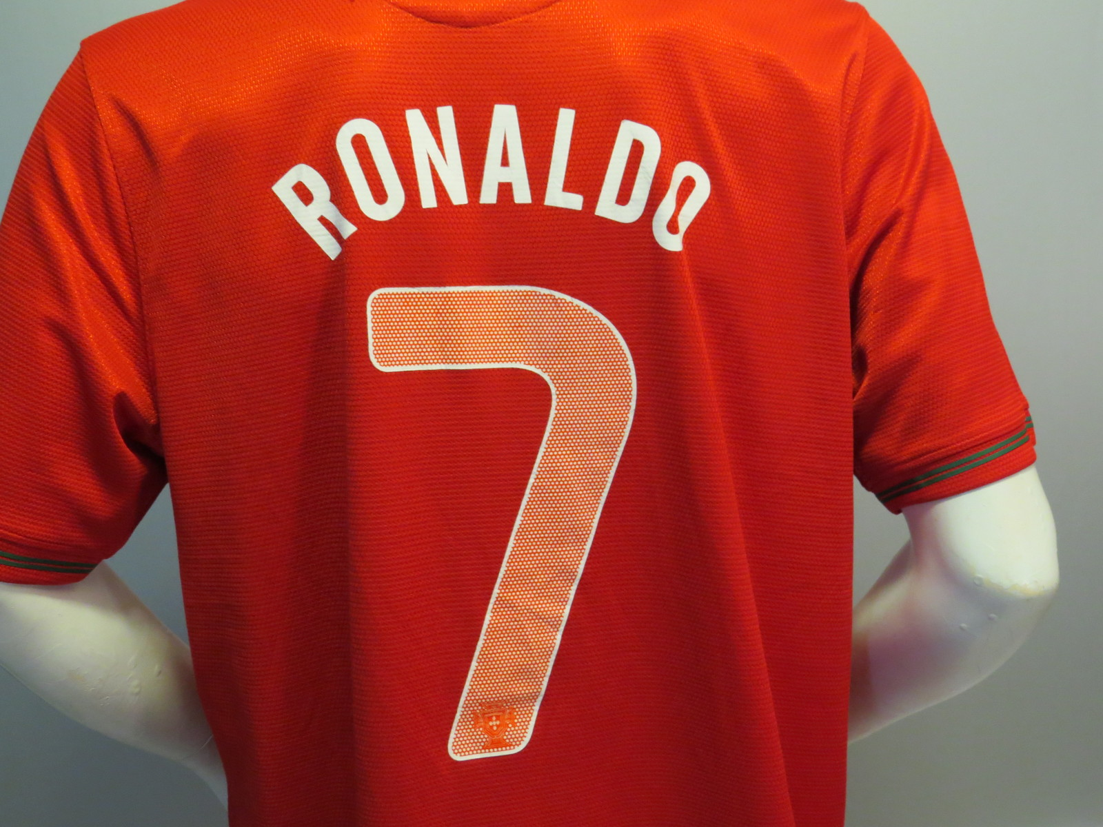 Team Portugal Jersey by Nike - 2014 Home Jersey #7 Ronaldo - Men's Extra Large