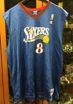 Aaron McKie Philadelphia 76ers #8 Champion Jersey Sz XXL - $78.39