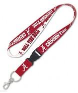"""NEW! Alabama Roll Tide 1"""" Lanyard ID Badge Holder w/ Breakaway Clip Keyc... - $9.95"""