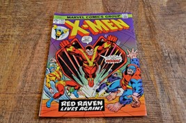 The X-Men #92 (Marvel, 1975) Red Raven Lives Again VF Condition - $57.95