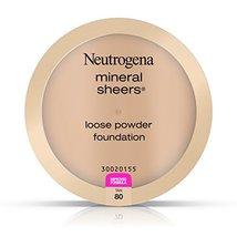 Neutrogena Mineral Sheers Loose Powder Foundation, Tan 80, .19 Oz. - $13.66