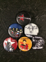 """1.25"""" Rage Against the Machine pin back button ... - $4.49"""