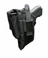 Gun Holster Hip for S&W M&P 40,9mm with TACTICAL FLASHLIGHT or LASER LIG... - $24.95
