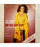 NEWPORT NEWS Catalog 2008 Great Fall Sale Fashion Favorites OOP Issue - $6.93