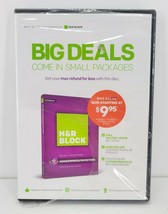 H&R Block Tax Software Deluxe Federal State Big Deals Come In Small Pack... - $8.90