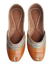 punjabi jutti  designer shoes, ething shoes,leather jutti USA-8                 - $29.99