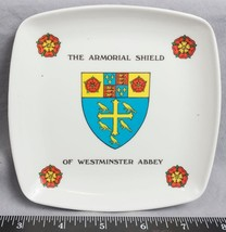Vintage The Armorial Shield of Westminster Abbey Porcelain Ashtray jds - $12.86