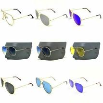 Gafas De sol Lentes Oculos de moda Espejuelos para Mujeres y Hombres Aviador - $10.78+
