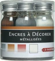 J. Herbin Pigmented Ink 5 Bottle Set 10Ml - $18.22
