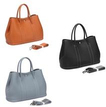 New Pebbled Italian Leather Tote Shoulder Bag Handbag 2382L - $149.95