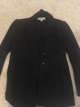 Designer St. John by Marie Gray Basic Black Cardigan Jacket Size S - #633 - $74.79