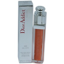 Dior Addict Gloss Mirror Shine Volume & Care 6.5 Ml #333 Bal D'ete Nib - $36.14