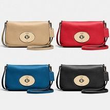 COACH F52896 Liv Turnlock Crossbody Bag NWT - $74.24+
