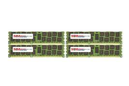MemoryMasters 32GB (4x8GB) DDR3-1600MHz PC3-12800 ECC RDIMM 2Rx8 1.35V Registere - $276.20
