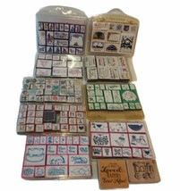 Stamp Lot Inkadinkado Stampendous Rubber Country Victorian Christmas Ins... - $24.70
