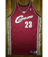 2003 Cleveland Cavaliers Lebron James Game Used Worn Jersey 52+4 pro cut... - $2,999.99