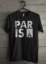 Paris Eiffel Tower - Custom Men's T-Shirt (2416) - $19.13+