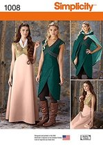 Simplicity Creative Patterns US1008R5 Misses Fantasy Costumes, Size R5 (... - $13.23