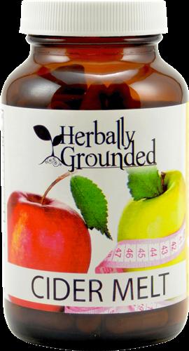 Herbally Grounded Cider Melt, 120 capsules, dietary fat, fat burner, energy - $34.98