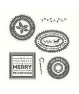 Stampin' Up Holly Jolly Layers Stamp Set #142223 - $15.95