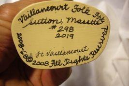 Vaillancourt Folk Art, First Nantucket Santa  Signed by image 6