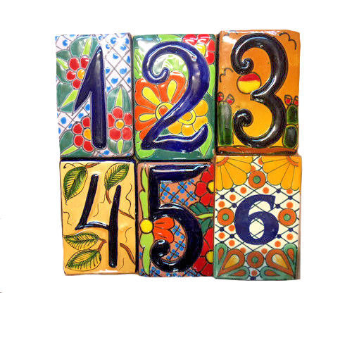 Primary image for Spanish Tile House Number