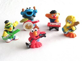 Playskool Sesame Street Band Complete Elmo Big Bird Bert Ernie Cookie Fi... - $19.99