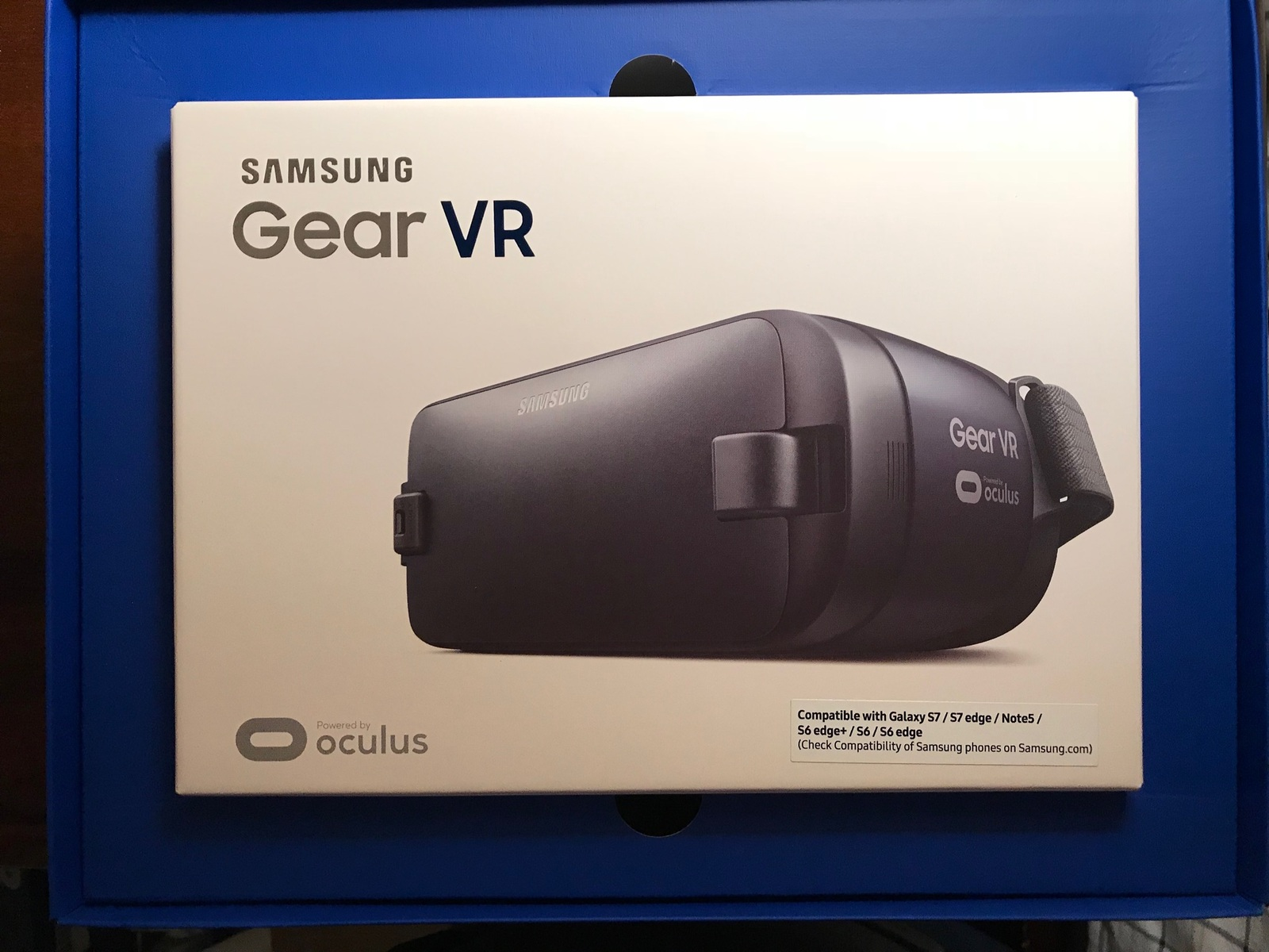 S6 S6 Ed... NEW Samsung Gear VR Virtual Reality Headset Glasses Note 5 S6 Edge