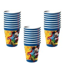 Hallmark Disney Mickey Mouse Clubhouse Party 9 Oz. Paper Cups - 24 Guests - $18.54