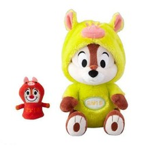 Chip Plush Doll with Puppet 2019 Chip and Dale Tokyo Disney Limited Japan - $61.70