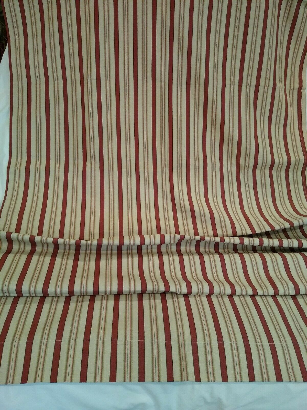 Primary image for Waverly Curtain Tab Top Striped NWOT