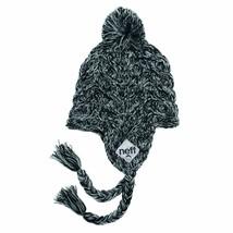 Neff Womens Black Ashes Beanie Knit Cap