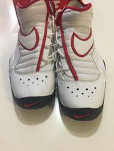 Nike Air Shake Ndestrukt Men's Basketball Shoes White/Red 880869 100 Size 11 image 7