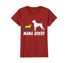 Lgbt Mama Boxer Dog Lgbt Shirts Mother Gift Love Dog - $19.99+