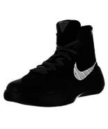 Nike Boys Shoes Hyperdunk 2015 GS Basketball Black Silver 759974 001 Sz 7  - $59.99
