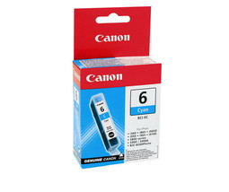 Canon 4706A003 OEM BCI6 Cyan Ink Cartridge For BJC-8200 Photo i560 With ... - $28.66