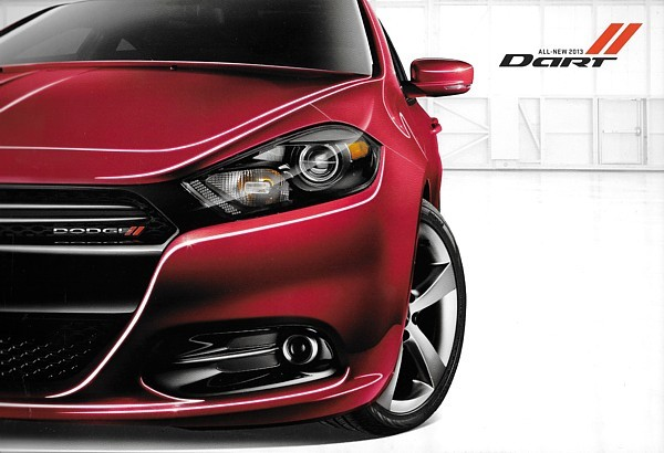 Primary image for 2013 Dodge DART sales brochure catalog 13 Aero SXT Rallye Limited R/T