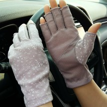 YLucky Lightweight Summer Fingerless Gloves Men Women UV Sun Protection - $13.86+