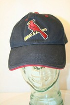 STL Cardinals MLB adjustable Navy Blue Red embroidered Logo Dad Cap Hat - $19.95