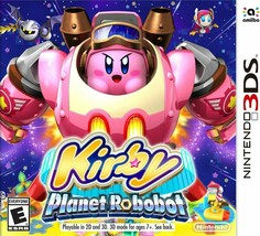 Kirby: Planet Robobot - Nintendo 3DS Standard Edition - $41.00