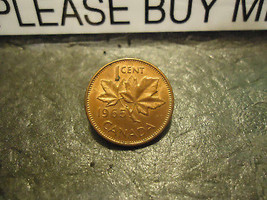 1965 CANADIAN CENT COIN    ****     >> COMBINED SHIPPING  - $1.73