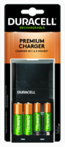 Duracell Ion Speed 4000 Battery Charger For AA AAA NiMH Batteries   - $16.95