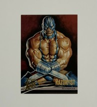 X-Men Fleer Ultra Wolverine 1996 49 Razorfist Madripoor Trading Card - $1.97