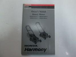 1997 Honda HRM215SXA 215HXA HRB215SXA Rotierende Mäher Manuell Minor Kle... - $19.76