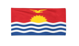 Kiribati Flag Beach Towel Swimming Towels Summer Holiday Towels Gym Towel - $24.99+