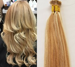 """18"""" 100grs,125s,I Tip (Stick Tip) Fusion Remy Human Hair Extensions #27/613 - $98.99"""