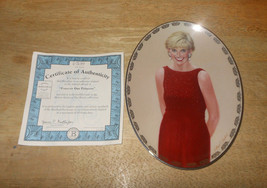 "Princess Diana ""Forever Our Princess"" Queen Of Our Hearts Collector Plate - $17.62"