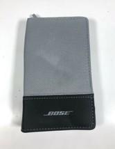 Bose SoundTrue Ultra In-Ear Headphones Carry Zipper Case - Black/Gray - $9.89